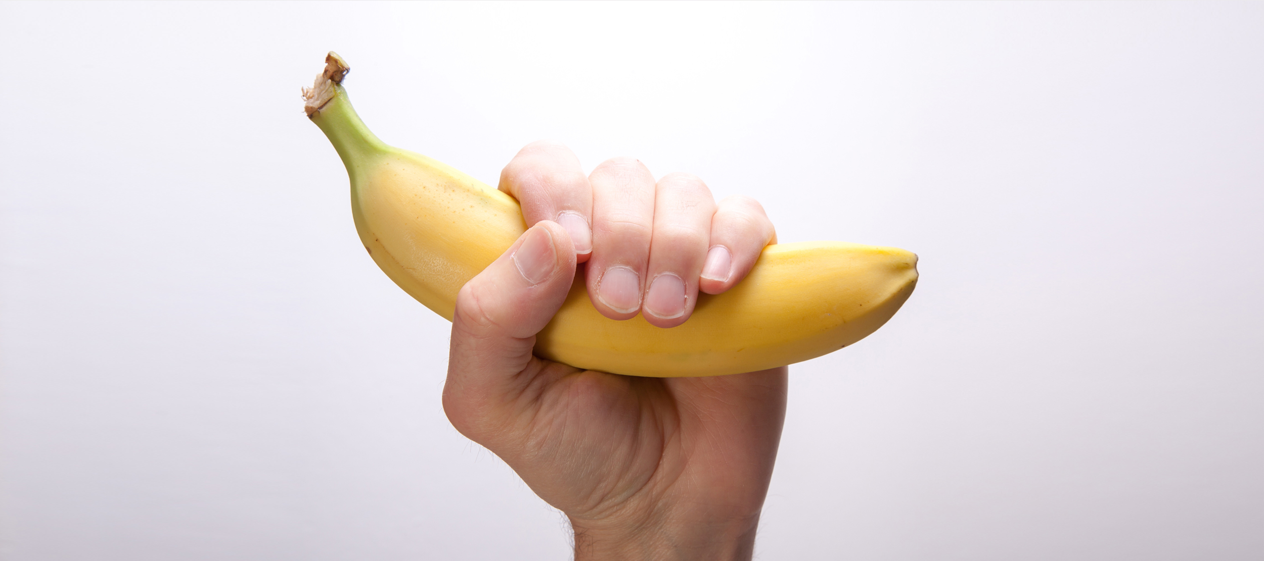 Banana in fist